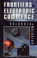 Cover image for Frontiers of electronic commerce
