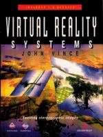 Cover image for Virtual reality systems