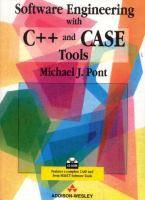 Cover image for Software engineering with C++ and CASE tools