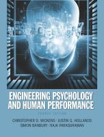 Cover image for Engineering psychology and human performance