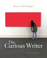Cover image for The curious writer