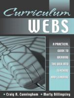 Cover image for Curriculum webs : a practical guide to weaving the web into teaching and learning