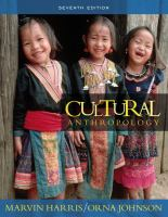 Cover image for Cultural anthropology