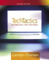 Cover image for TechTactics : technology for teachers