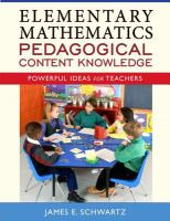 Cover image for Elementary mathematics pedagogical content knowledge : powerful ideas for teachers