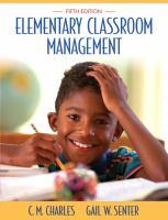 Cover image for Elementary classroom management