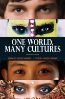 Cover image for One world, many cultures