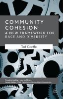 Cover image for Community cohesion : a new framework for race and diversity