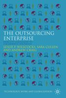 Cover image for The outsourcing enterprise : from cost management to collaborative innovation