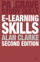 Cover image for E-learning skills