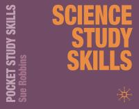 Cover image for Science study skills