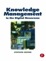 Cover image for Knowledge management in the digital newsroom