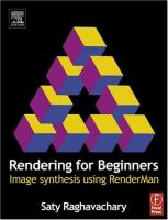 Cover image for Rendering for beginners :  image synthesis using RenderMan