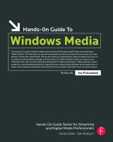 Cover image for Hands-on guide to Windows Media