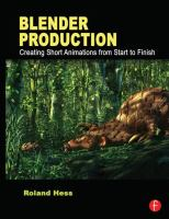 Cover image for Blender production : creating short animations from start to finish