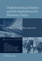 Cover image for Understanding inflation and the implications for monetary policy : a Phillips curve retrospective