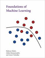 Cover image for Foundations of machine learning