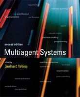 Cover image for Multiagent systems