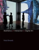 Cover image for Aesthetics of interaction in digital art