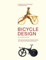 Cover image for Bicycle design : an illustrated history