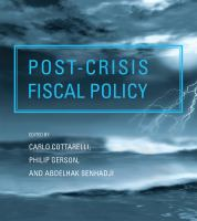Cover image for Post-crisis fiscal policy