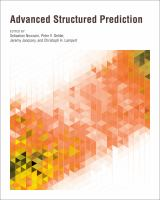 Cover image for Advanced structured prediction
