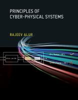 Cover image for Principles of cyber-physical systems