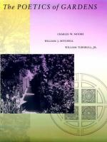 Cover image for The poetics of gardens