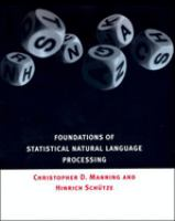 Cover image for Foundations of statistical natural language processing