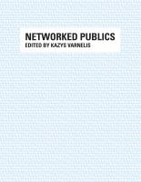 Cover image for Networked publics