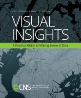 Cover image for Visual insights : a practical guide to making sense of data