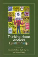 Cover image for Thinking about android epistemology