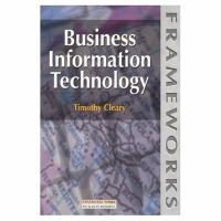 Cover image for Business information technology