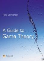 Cover image for A guide to game theory