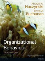 Cover image for Organizational Behaviour