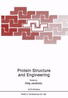 Cover image for Protein structure and engineering