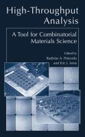 Cover image for High-throughput analysis : a tool for combinatorial materials science