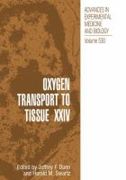 Cover image for Oxygen transport to tissue XXIV
