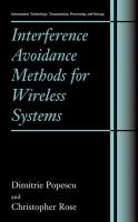 Cover image for Interference avoidance methods for wireless systems