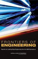Cover image for Frontiers of engineering : reports on leading-edge engineering from the 2008 symposium.