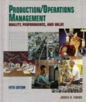 Cover image for Production/operations management : quality, performance, and value