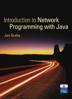 Cover image for An introduction to network programming with java