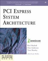 Cover image for PCI express system architecture