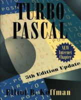 Cover image for Turbo Pascal