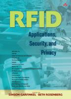 Cover image for RFID : applications, security, and privacy