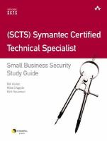 Cover image for (SCTS) Symantec Certified Technical Specialist small business security study guide