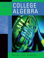 Cover image for A graphical approach to college algebra