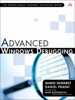 Cover image for Advanced windows debugging