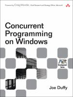 Cover image for Concurrent programming on windows