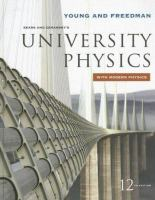 Cover image for Sears and Zemansky's University physics : with modern physics